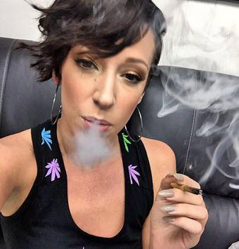 Porn stars with weed