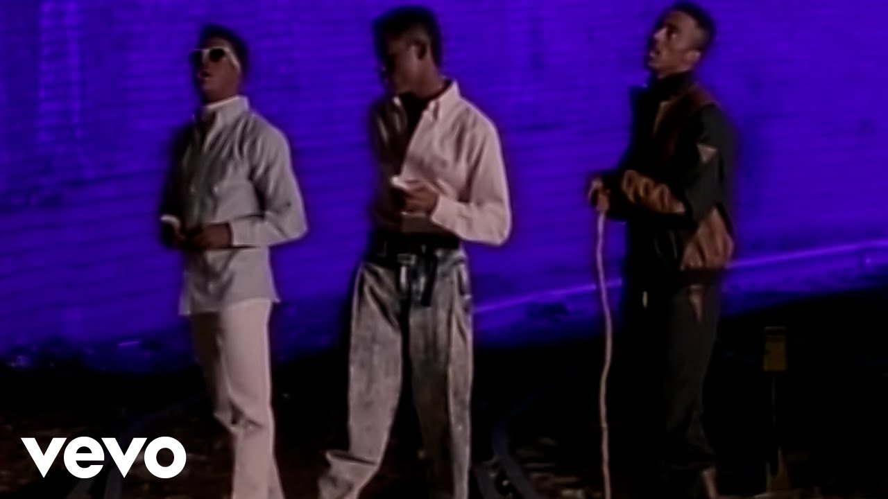New edition can you stand the rain official music video