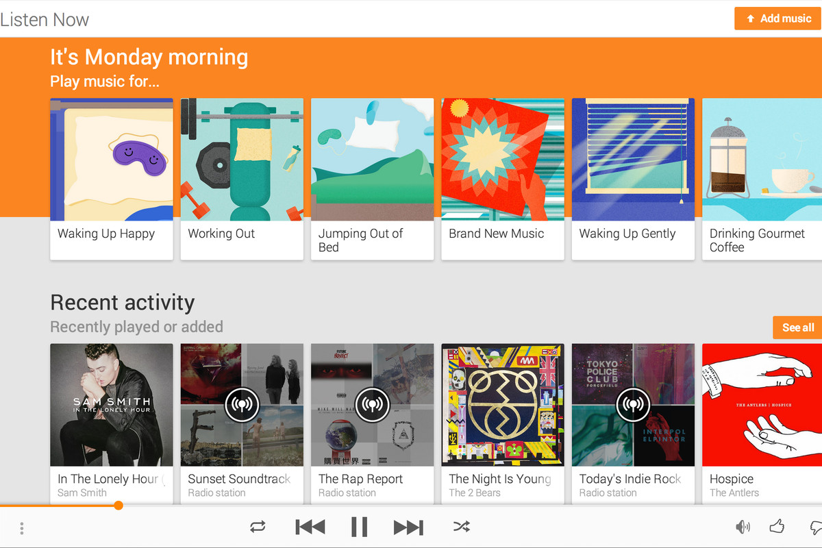 Google can you play music