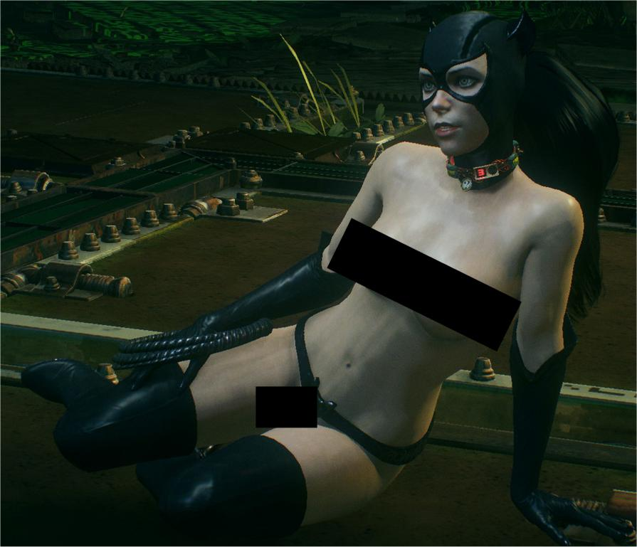 Catwoman nude porn