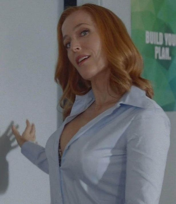 X files scully hot