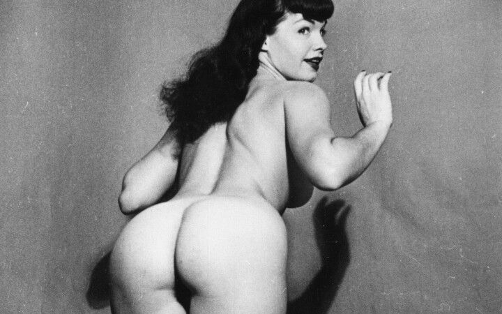 Bettie page nude ass