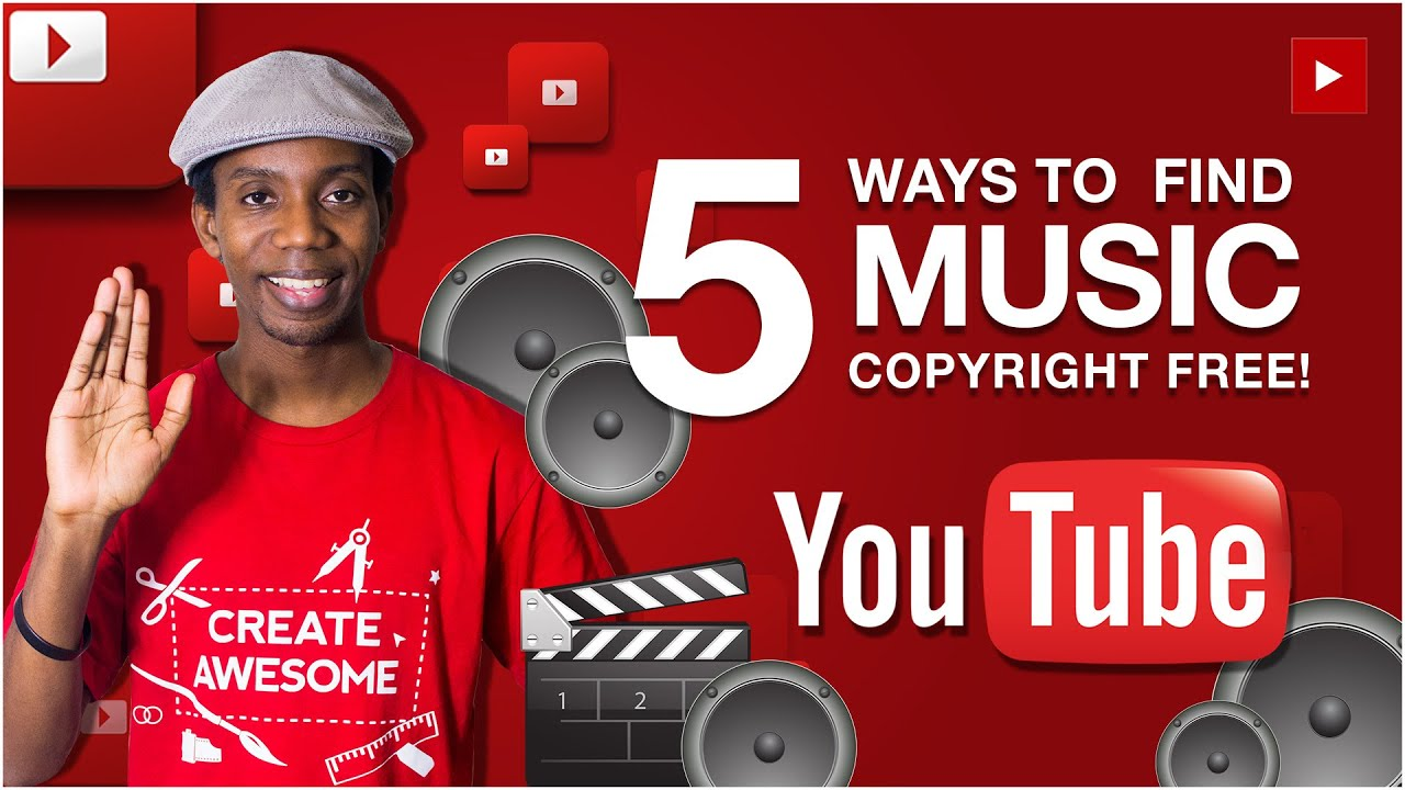 How to find free music for youtube videos
