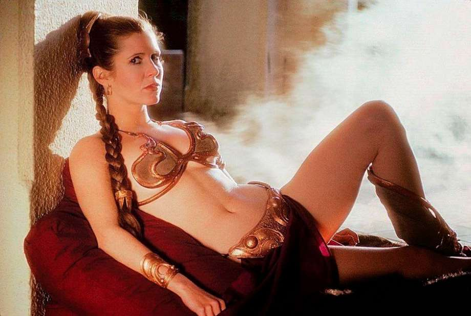 Carrie fisher nude pics