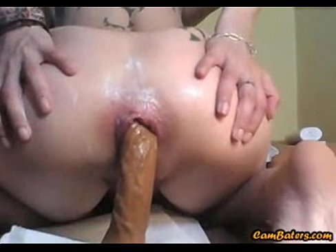 Gaping pussy and ass