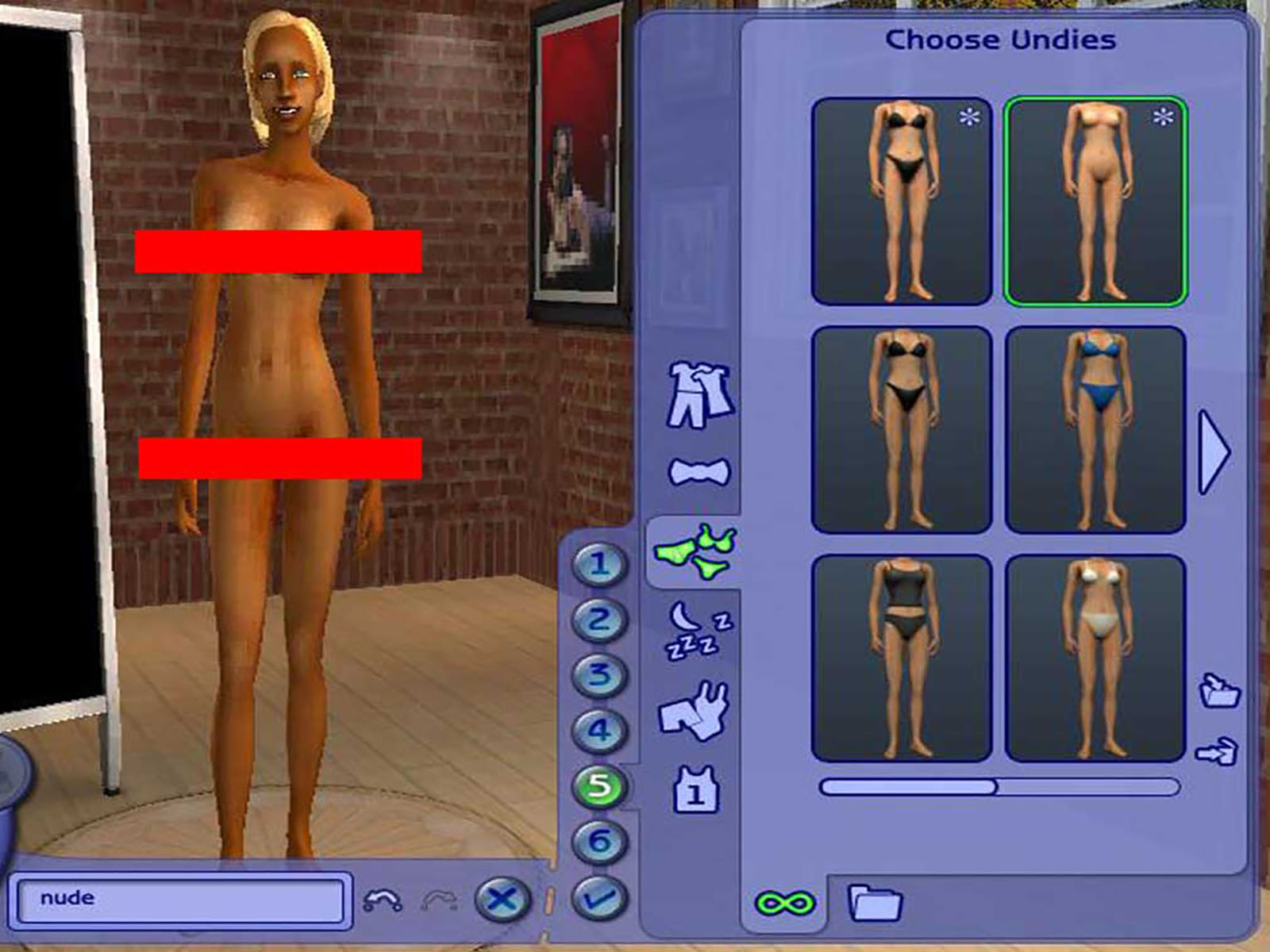 Nude patch sims huge butt porn