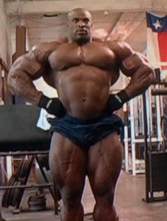 Ronnie coleman nude butt