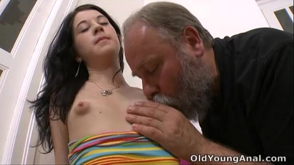 Sucking young nipples
